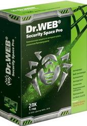 Антивирус Dr.Web Security Space 2ПК/1год BOX в Саратове
