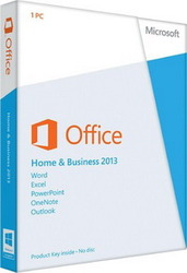 Microsoft Office Home and Business 2013 Russian Only EM DVD в Саратове