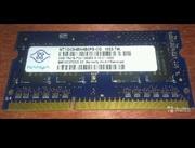 Nanya NT1GC64BH4B0PS-CG DDR3 1GB sodimm 1333mhz